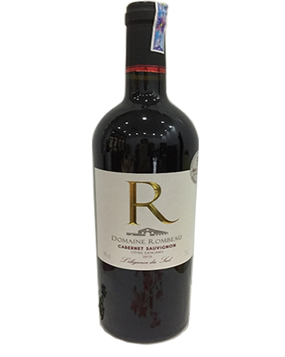 Rượu pháp Domailne Rombeau chữ R